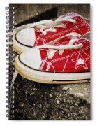 Princess Shoes Spiral Notebook