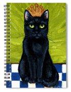 Princess Velvet Spiral Notebook