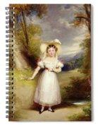Princess Victoria Aged Nine Spiral Notebook