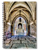 Princeton University Arches And Stairway To Education Spiral Notebook