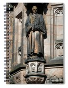 Princeton University J Witherspoon Statue  Spiral Notebook