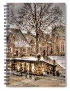 Snow / Winter Princeton University Spiral Notebook