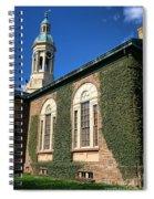 Princeton University Nassau Hall Cupola Spiral Notebook