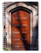Princeton University Wood Door  Spiral Notebook