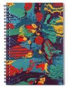 Printed Saltillo Spiral Notebook