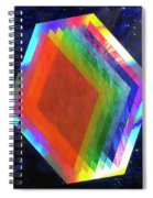 Prismatic Dimensions Spiral Notebook