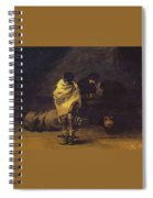 Prison Scene Francisco Jose De Goya Y Lucientes Spiral Notebook