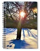 Pristine Snowfield Spiral Notebook
