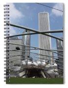 Pritzker Pavilion Spiral Notebook