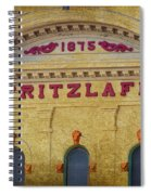 Pritzlaff Spiral Notebook