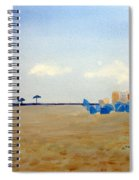 Private Beach Spiral Notebook