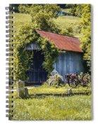 Private Covered Bridge Spiral Notebook