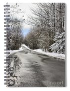 Private Country Road Spiral Notebook