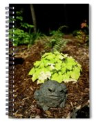 Private Garden Go Away Spiral Notebook