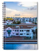 Private Pool 3 Spiral Notebook
