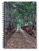 Private Road Spiral Notebook