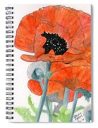 Prize Poppies Spiral Notebook