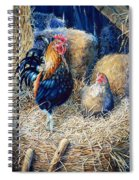 Prized Rooster Spiral Notebook