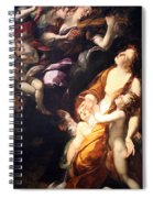 Procaccini's The Ecstasy Of The Magdalen Spiral Notebook