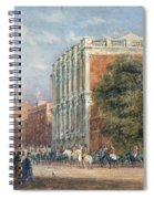 procession with Queen Victoria Spiral Notebook