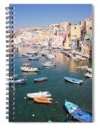 Procida Island, Italy Spiral Notebook