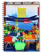 Produce Seller Spiral Notebook