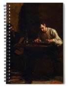 Professionals At Rehearsal 1883 Spiral Notebook
