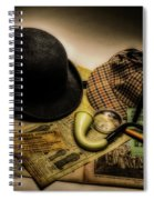 Professor Moriartys Nemesis Spiral Notebook