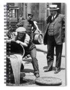 Prohibition, C1921 Spiral Notebook