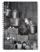 Prohibition Confiscated Stills  1920's Spiral Notebook