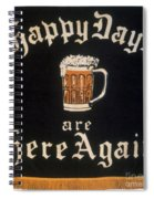 Prohibition: Repeal, C1933 Spiral Notebook