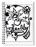 Project Healthy Spiral Notebook