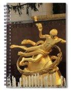 Prometheus Rockefeller Center Spiral Notebook