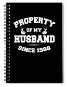 Propertyhusband 1998 Spiral Notebook