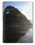 Proposal Rogue Wave Rock - Oregon Coast Spiral Notebook