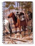 Prospecting For Cattle Range 1889 Spiral Notebook