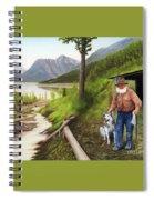 Prospector And Best Friend Spiral Notebook