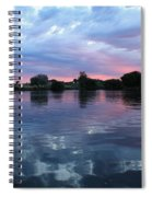 Prosser Pink Sunset 5 Spiral Notebook