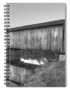 Protection That Works Historic Watson Mill Covered Bridge Spiral Notebook