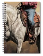 Proud And Powerful Spiral Notebook