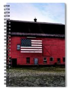 Proud To Be American Spiral Notebook