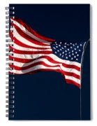 Proudly I Wave Spiral Notebook
