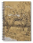 Provencal Orchard Arles  March - April 1888 Vincent Van Gogh 1853  1890 Spiral Notebook