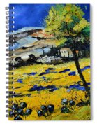 Provence 5661 Spiral Notebook