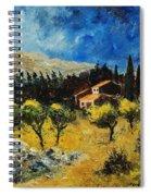 Provence 678965 Spiral Notebook