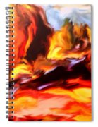 Provence In The Summer Spiral Notebook