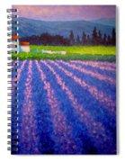 Provence Spiral Notebook