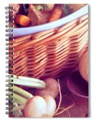 Provence Kitchen Shallots Spiral Notebook