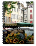 Provence Market Day Spiral Notebook