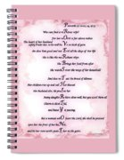 Proverbs 31 Acrostic Spiral Notebook